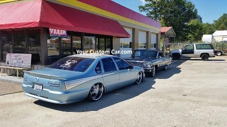 your custom car, custom impala ss, 96 impala