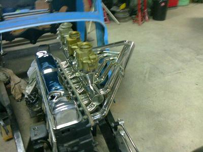 1933 Ford with Buick straight 8 power