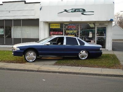 Impala Ss 1996 Interior
