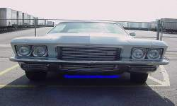 Riviera Front Grill, Headlights