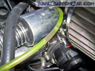 coolant bleeder valve, bleed valve, radiator valve, air in coolant, coolant bleed