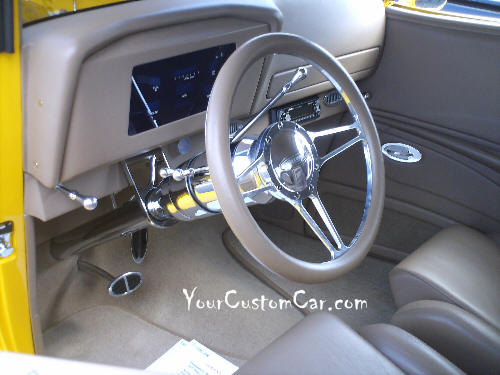 1933 Ford Interior