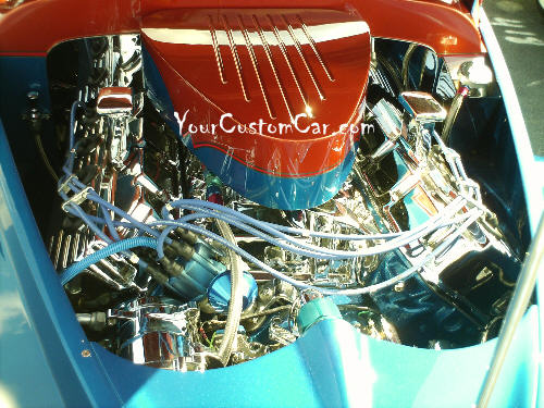 Willys Swoopster Engine