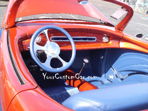 1940 Willys Interior