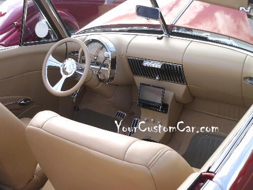 1948 Cadillac Interior