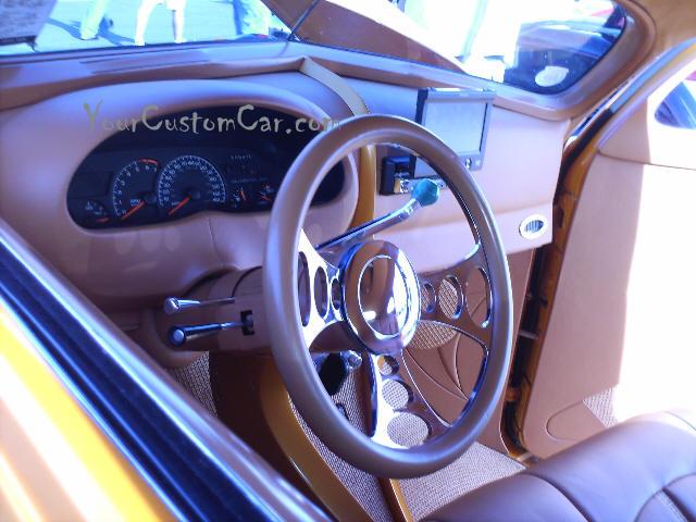 48 Chevrolet Interior