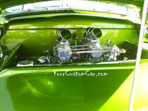 1949 Mercury Engine