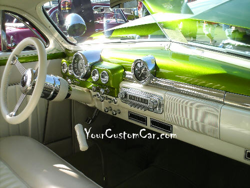 49 Mercury Interior