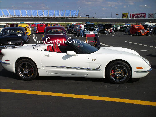 Commemorative Corvette Good Guys Car Show