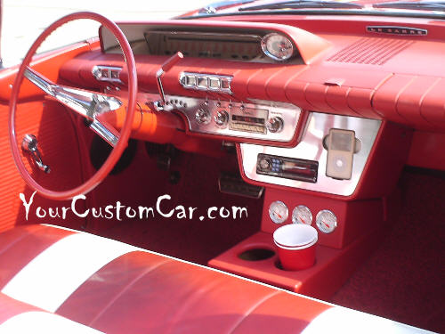 60 Buick Interior