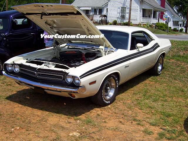 Dodge Challenger 1969 Black >> Custom Street Cars at Autobarn Car Show
