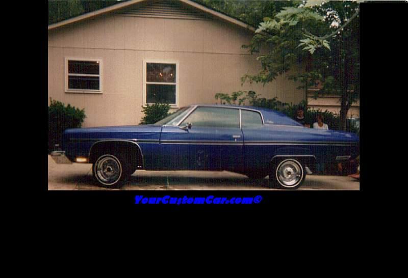 73 Impala Lowrider-Sitting High