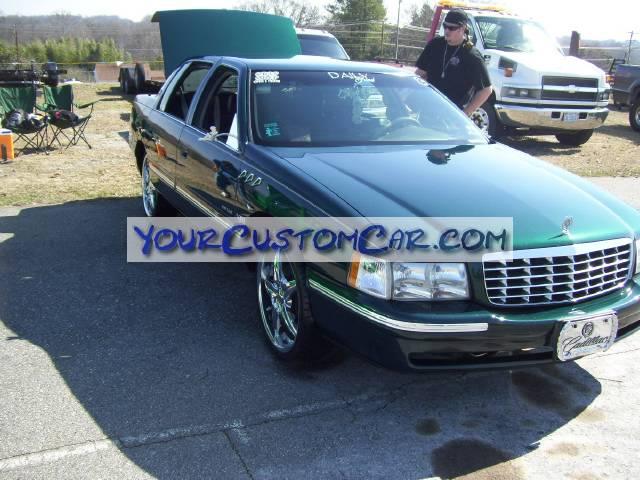 Cadillac on Dubs