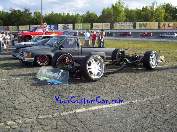 Slammed Mini Truck Chassis