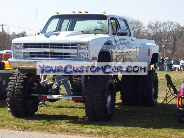 Lifted Chevy Dually