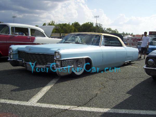 Classic Blue Cadillac