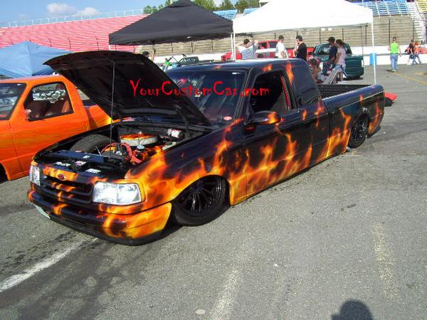 Ranger with Flames