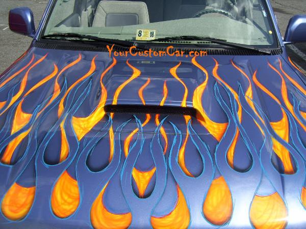 Custom Four Runner Hood
