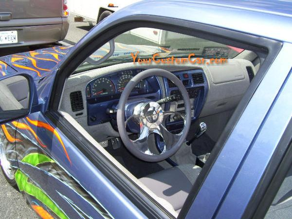 Custom Four Runner Interior