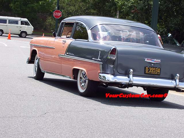 Perfect 55 Chevy Belair