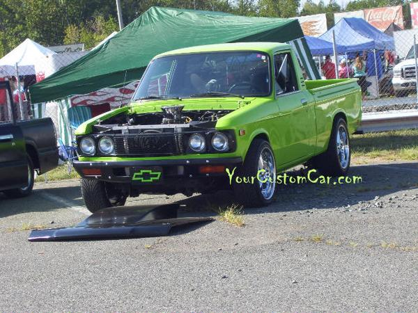 Green Chevy Luv