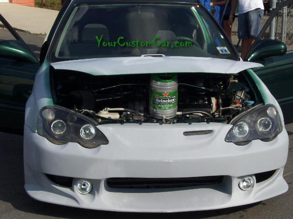 Honda Civic Heineken