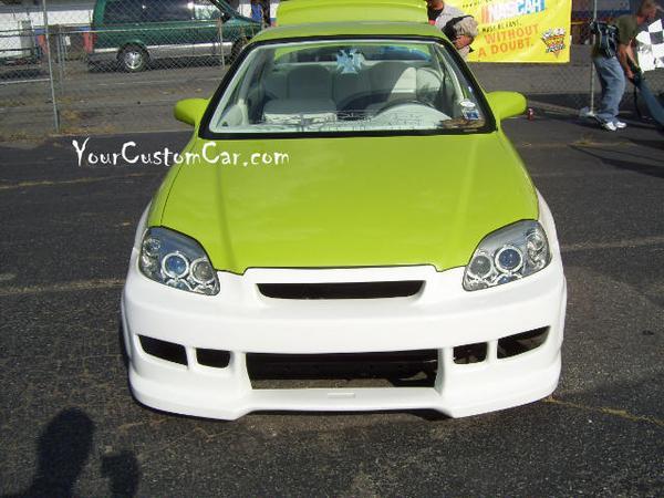 Custom Paint Honda Civic