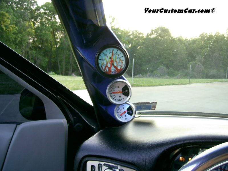 Additional gauges Custom 96 Impala SS