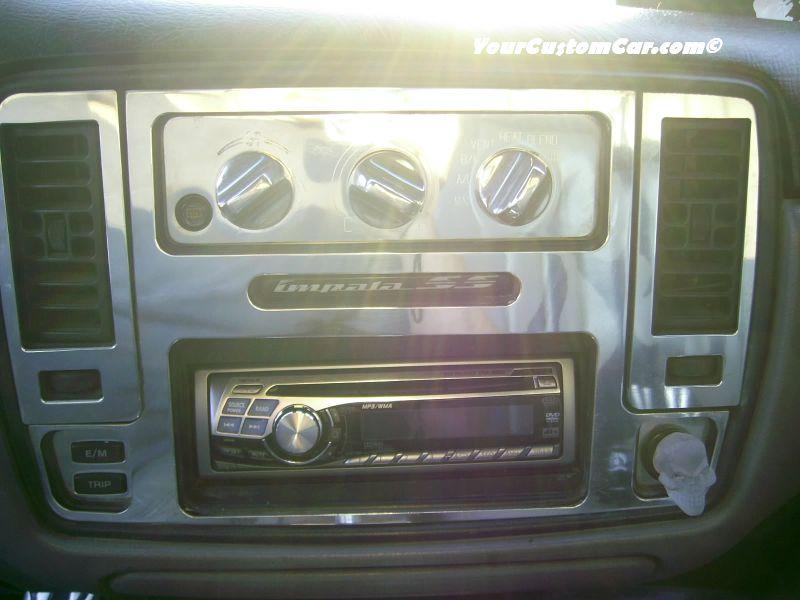 Custom 96 Impala SS Billet Dash