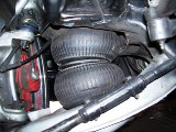 air bag between control arms, front air bag, impala ss