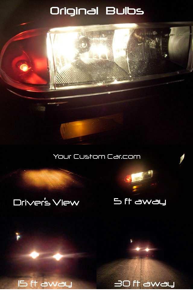 original poor quality headlight bulbs & What are HID Lights azcodes.com