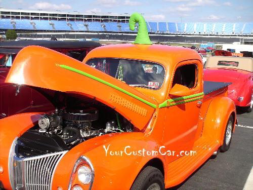 Pumpkin Hot Rod