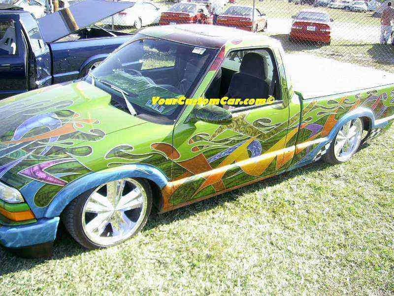 S-10 With Wild Paint