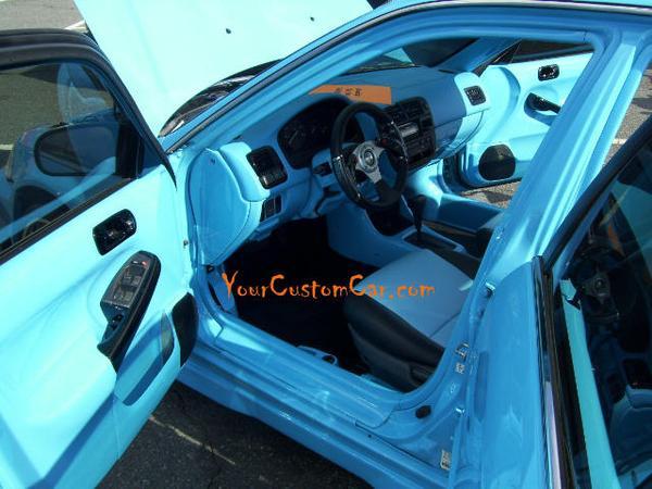 Honda Civic Custom Interior