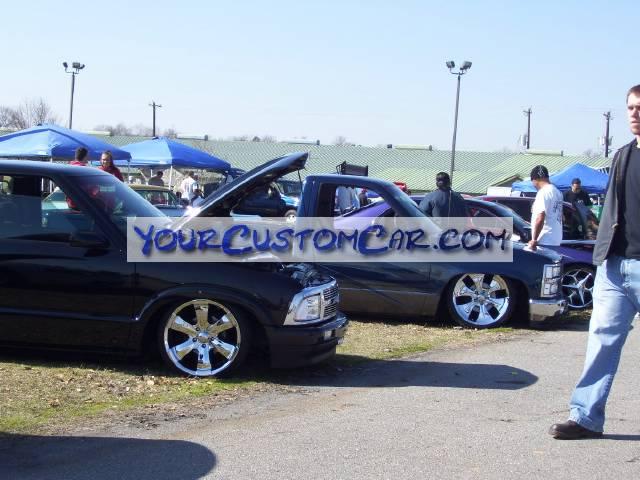 Custom Chevy Trucks at Blood Drag 08