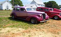 36 Chevy Four Door Sedan