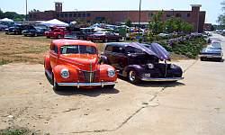 39 40 Ford Chevy Two Door Sedan