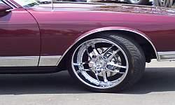 Caprice on 22 inch Rims