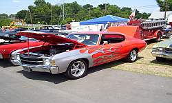 Flamed Chevrolet Chevelle