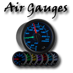 Air suspension air pressure gauge at your custom car