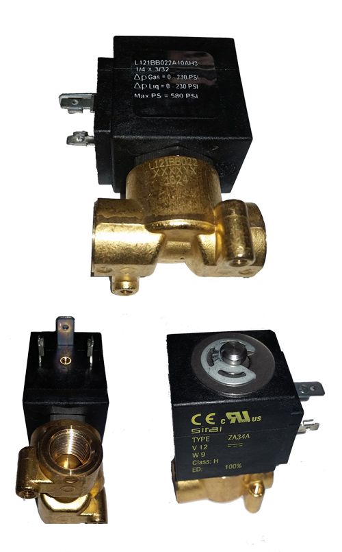 1/4 inch air bag valve, slow air suspension valve, train horn valve
