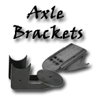 Rear axle air suspension bag brackets at your custom car
