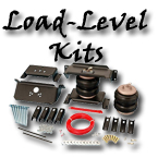 Load leveling air suspension tow haul kits at your custom car