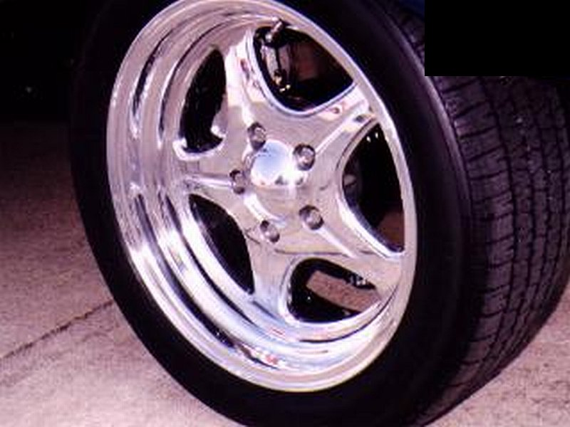 Polish Aluminum Wheels Mirror Finish http://www.yourcustomcar.com/custom-wheels.html