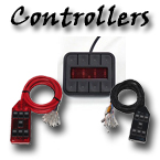 Digital and manual air suspension controllers at your custom car