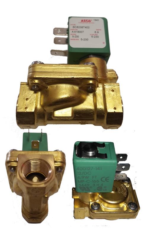 3/8 inch medium speed air bag suspension valve, asco air valve