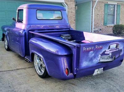 Customized 57 Chevy truck